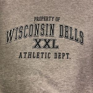 Light Gray Wisconsin Dells Crew Neck